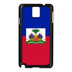 Flag Of Haiti  Samsung Galaxy Note 3 N9005 Case (black) by abbeyz71
