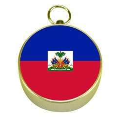 Flag Of Haiti  Gold Compasses by abbeyz71