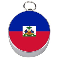 Flag Of Haiti  Silver Compasses by abbeyz71