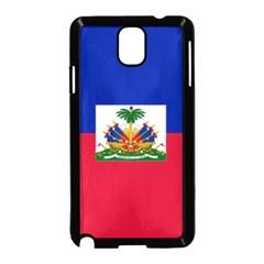 Flag Of Haiti  Samsung Galaxy Note 3 Neo Hardshell Case (black) by abbeyz71