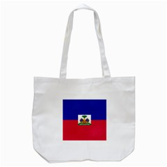 Flag Of Haiti  Tote Bag (white) by abbeyz71