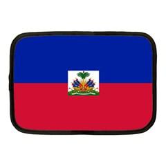 Flag Of Haiti Netbook Case (medium)  by abbeyz71