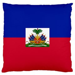 Flag Of Haiti Large Cushion Case (one Side) by abbeyz71