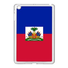 Flag Of Haiti Apple Ipad Mini Case (white) by abbeyz71