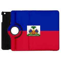 Flag Of Haiti Apple Ipad Mini Flip 360 Case by abbeyz71