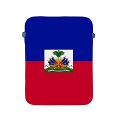 Flag Of Haiti Apple Ipad 2/3/4 Protective Soft Cases by abbeyz71