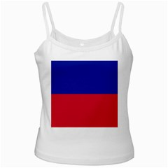 Civil Flag Of Haiti (without Coat Of Arms) Ladies Camisoles by abbeyz71