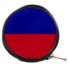 Civil Flag Of Haiti (without Coat Of Arms) Mini Makeup Bags by abbeyz71