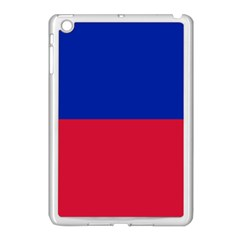 Civil Flag Of Haiti (without Coat Of Arms) Apple Ipad Mini Case (white) by abbeyz71