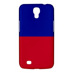Civil Flag Of Haiti (without Coat Of Arms) Samsung Galaxy Mega 6 3  I9200 Hardshell Case by abbeyz71