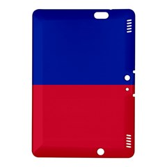Civil Flag Of Haiti (without Coat Of Arms) Kindle Fire Hdx 8 9  Hardshell Case by abbeyz71