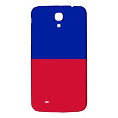 Civil Flag Of Haiti (without Coat Of Arms) Samsung Galaxy Mega I9200 Hardshell Back Case by abbeyz71