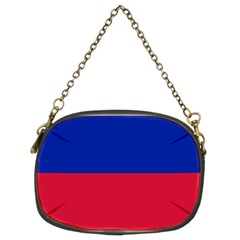 Civil Flag Of Haiti (without Coat Of Arms) Chain Purses (two Sides)  by abbeyz71