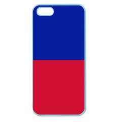 Civil Flag Of Haiti (without Coat Of Arms) Apple Seamless Iphone 5 Case (color) by abbeyz71