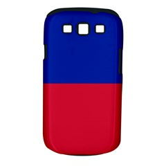 Civil Flag Of Haiti (without Coat Of Arms) Samsung Galaxy S Iii Classic Hardshell Case (pc+silicone) by abbeyz71