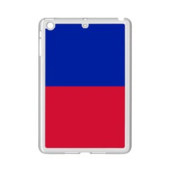 Civil Flag Of Haiti (without Coat Of Arms) Ipad Mini 2 Enamel Coated Cases by abbeyz71