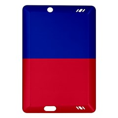 Civil Flag Of Haiti (without Coat Of Arms) Amazon Kindle Fire Hd (2013) Hardshell Case by abbeyz71