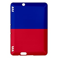 Civil Flag Of Haiti (without Coat Of Arms) Kindle Fire Hdx Hardshell Case by abbeyz71