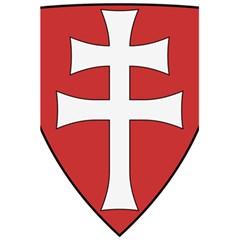 Coat Of Arms Of Apostolic Kingdom Of Hungary, 1172 1196 5 5  X 8 5  Notebooks by abbeyz71
