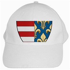 Angevins Dynasty Of Hungary Coat Of Arms White Cap by abbeyz71
