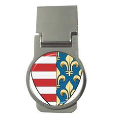 Angevins Dynasty Of Hungary Coat Of Arms Money Clips (round)  by abbeyz71