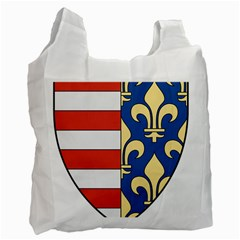 Angevins Dynasty of Hungary Coat of Arms Recycle Bag (Two Side)  by abbeyz71