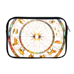 Zodiac Institute Of Vedic Astrology Apple Macbook Pro 17  Zipper Case by Onesevenart
