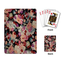 Japanese Ethnic Pattern Playing Card by Onesevenart