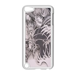 Chinese Dragon Tattoo Apple Ipod Touch 5 Case (white) by Onesevenart
