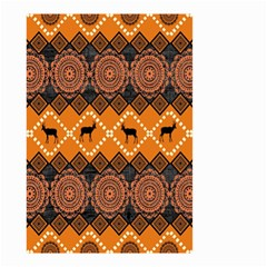 Traditiona  Patterns And African Patterns Small Garden Flag (two Sides) by Onesevenart