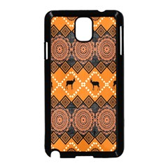 Traditiona  Patterns And African Patterns Samsung Galaxy Note 3 Neo Hardshell Case (black) by Onesevenart
