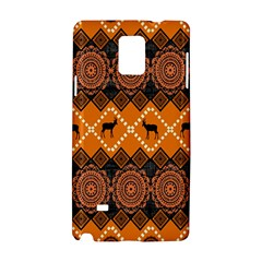 Traditiona  Patterns And African Patterns Samsung Galaxy Note 4 Hardshell Case by Onesevenart