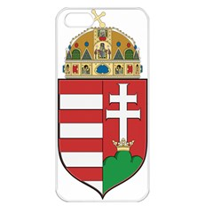 Medieval Coat of Arms of Hungary  Apple iPhone 5 Seamless Case (White)