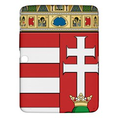 Medieval Coat Of Arms Of Hungary  Samsung Galaxy Tab 3 (10 1 ) P5200 Hardshell Case  by abbeyz71