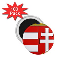 Medieval Coat Of Arms Of Hungary  1 75  Magnets (100 Pack)  by abbeyz71
