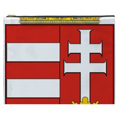 Medieval Coat Of Arms Of Hungary  Cosmetic Bag (xxxl)  by abbeyz71