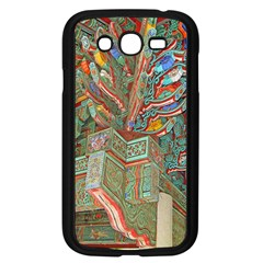 Traditional Korean Painted Paterns Samsung Galaxy Grand Duos I9082 Case (black) by Onesevenart