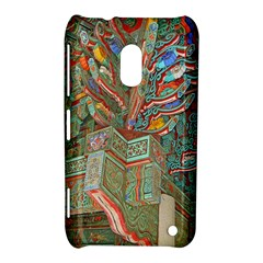 Traditional Korean Painted Paterns Nokia Lumia 620 by Onesevenart