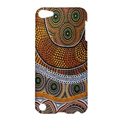 Aboriginal Traditional Pattern Apple Ipod Touch 5 Hardshell Case by Onesevenart
