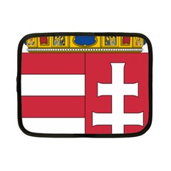 Coat Of Arms Of Hungary Netbook Case (small)  by abbeyz71