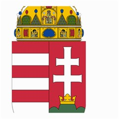 Coat Of Arms Of Hungary Small Garden Flag (two Sides) by abbeyz71
