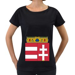 Coat Of Arms Of Hungary  Women s Loose Fit T Shirt (black) by abbeyz71