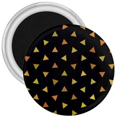 Shapes Abstract Triangles Pattern 3  Magnets by Nexatart