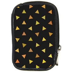 Shapes Abstract Triangles Pattern Compact Camera Cases by Nexatart