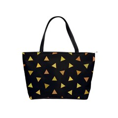Shapes Abstract Triangles Pattern Shoulder Handbags by Nexatart