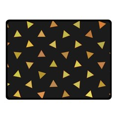 Shapes Abstract Triangles Pattern Fleece Blanket (small) by Nexatart