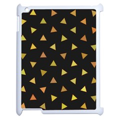 Shapes Abstract Triangles Pattern Apple Ipad 2 Case (white) by Nexatart