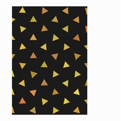 Shapes Abstract Triangles Pattern Small Garden Flag (two Sides) by Nexatart