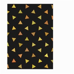 Shapes Abstract Triangles Pattern Large Garden Flag (Two Sides)