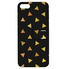Shapes Abstract Triangles Pattern Apple Iphone 5 Hardshell Case With Stand by Nexatart